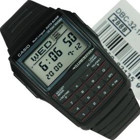 Relogio Casio Dbc 32-1 Databank Calculadora Alarme
