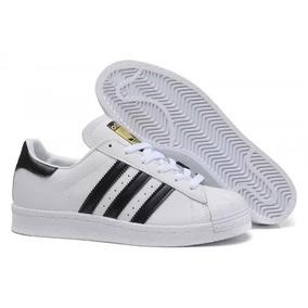 san francisco f835e b0347 Tenis adidas Superstar Clasicos Dama Concha Mujer Blancos