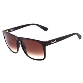 680095819568f 0evoke Evk 18 - Óculos De Sol G01 Brown Matte  Brown Degradê
