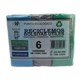 Bolsas Para Reciclar 6 Und 65 X 85 Cm