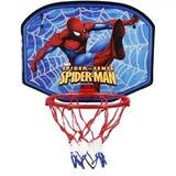 Tabela C/ Cesta De Basquete Infantil Marvel Homem Aranha