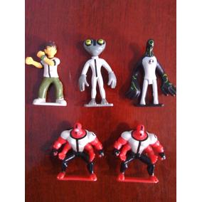 Lote De 5 Figuras Coleccionables De Ben 10