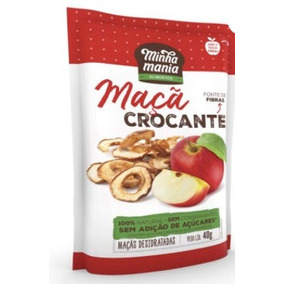 Maçã Chips Crocante