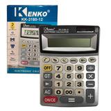 Pack 3 Calculadora Kenko Kk-3180-12 Visor Numeros Grandes