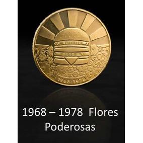 Mac Coin Maccoin 1968- 1978 Flores Poderosas