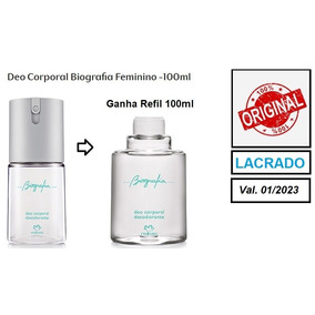 3244e3145 Refil Biografia Masculino - Perfumes no Mercado Livre Brasil