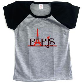 Mochilas Estampa De Paris - Camisetas e Blusas para Feminino no ... 2a6688a7312a4