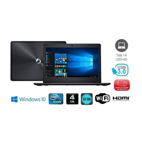 Notebook Positivo N40i Celeron 4gb 32gb Ssd Windows 10 Pro