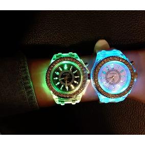 Reloj Geneva Luces Led Flash Regalo Envio Gratis
