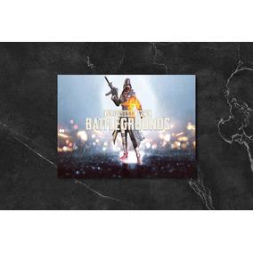 Quadro Poster Mdf Playerunknown Battleground Pubg Pubg17