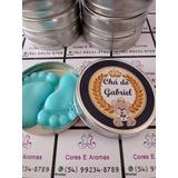 50 Lembrancinha Chá De Bebê 25 Mini Terço/ 25 Pezinho