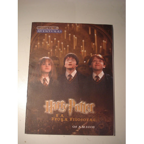 Livro Colorir Do Harry Potter Criança Antigo (anos 2000)