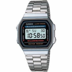 5515d334549 Relógio Casio Moda Vintage Prata Original Prateado Garantia