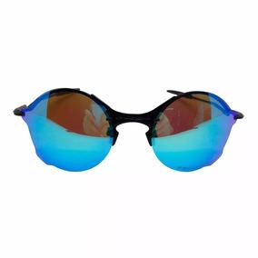22e7cad8a9b6e Oculos Redondo Cor Azul De Sol Oakley - Óculos no Mercado Livre Brasil