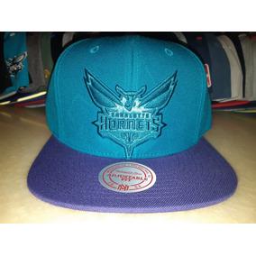Gorra Snapback Charlotte Hornets Mitchell And Ness Logo Xl 56eece824f8