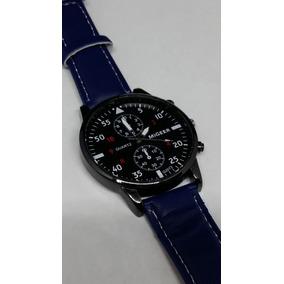 Reloj Caballero Migeer Azul Marino Envio Gratis