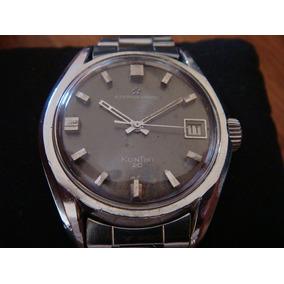 Fino Reloj Eterna Matic Kontiki 20. Swiss Made.
