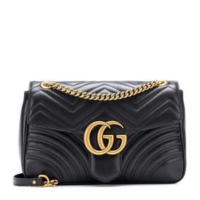 Bolsa Gucci Gg Marmont 100% Original Black fece5469e2