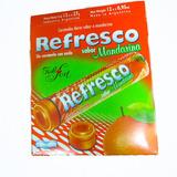 Caramelos Refresco Mandarina 12 Paq - Barata La Golosineria