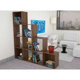 Biblioteca Escalera 170x155x30 Cm Amaretto.(envío Gratis)