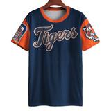 Camiseta Baseball Detroit Tigers Major League Mlb Usa Mt e2788f4396e