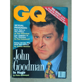Gq Magazine (abril 1992) John Goodman