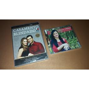 Dvd Casamento Blindado Áudio Livro+cd Márcia Ribeiro Com Pb