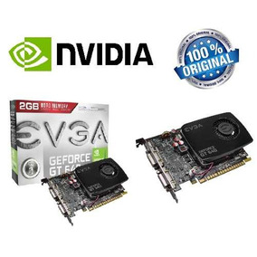 Placa De Video Evga Geforce Gt640 2gb Ddr3 Pci-express