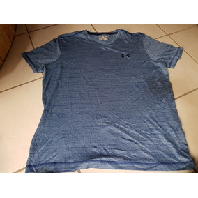 Playera Under Armour Azul Opaco Grande Adulto