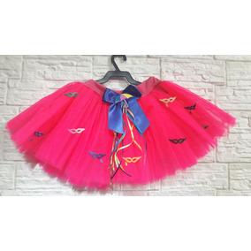 Saia Tutu Tule Infantil Carnaval Fantasia Menina