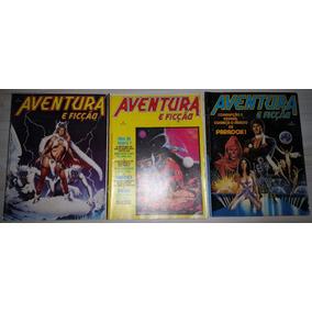 Gibi Aventura E Ficção Nº 1 Ao 3 Editora Abril 1986 A 1987