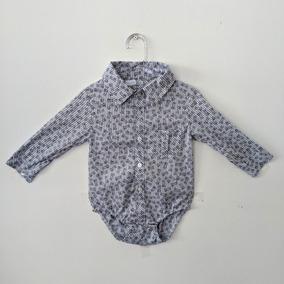 Camisa Social Branca Bebe - Roupas de Bebê no Mercado Livre Brasil 048a34b3b18