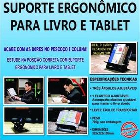 Suporte Ergonômico Para Livro E Tablet