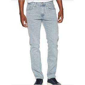 Tommy Hilfiger Hombre Bleecker Erving Gris Slim Jeans 34x32