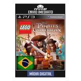 Lego Piratas Do Caribe Portugues Psn Ps3