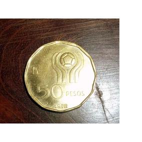 Argentina 50 Pesos 1978 Mundial 1978 Sin Circular