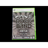 ¡¡¡ Rock Band Metal Track Pack Para Xbox 360 !!!