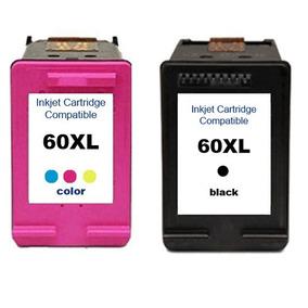 Kit Cartuchos 60 Xl Preto+ 60 Color F4280 F4480 C4680 D110 S