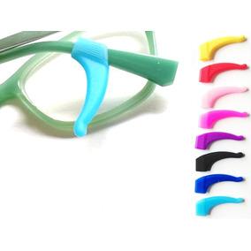 Soporte Lentes No Resbalan Anti Caída Gafas Lente Silicon 2p