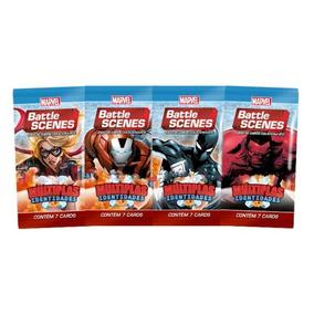 Pack De Cartas Marvel Battle Scenes Multiplas Identidades