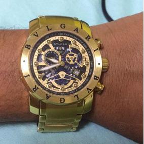 f6d4103e9ce Relógio Primeira Linha Masculino Bvlgari - Relógios De Pulso no ...
