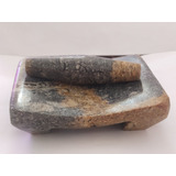 Metate De Piedra Natural 100%