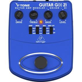 Pedal Behringer V-tone Gdi 21 P/ Guitarra Gdi21