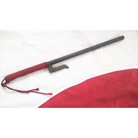 Faca Jutte Jitte Arma Samurai Japão Katana Espada Nunchaku