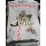 Camiseta Estampada Iron Maiden **m
