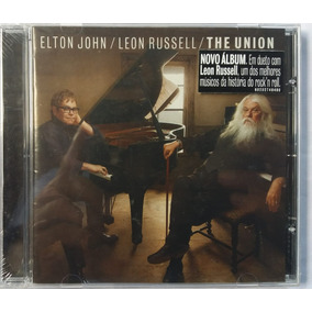Cd Elton John /leon Russell /the Union (original Novo)