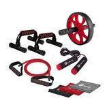 Set De Accesorios Ejercicios Fuerza Gym Fitnes Crosfit 8pzas