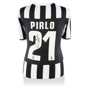 Andrea Pirlo Playera Firmada De Juventus Temporada 2013/2014