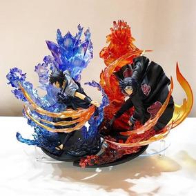 Kit Sasuke + Itachi Uchiha Susanoo - 23 Cm - Sob Encomenda