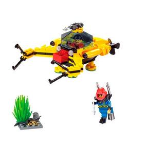 4e257e0230be5 Lego Submarino - Lego e Blocos de Montar no Mercado Livre Brasil